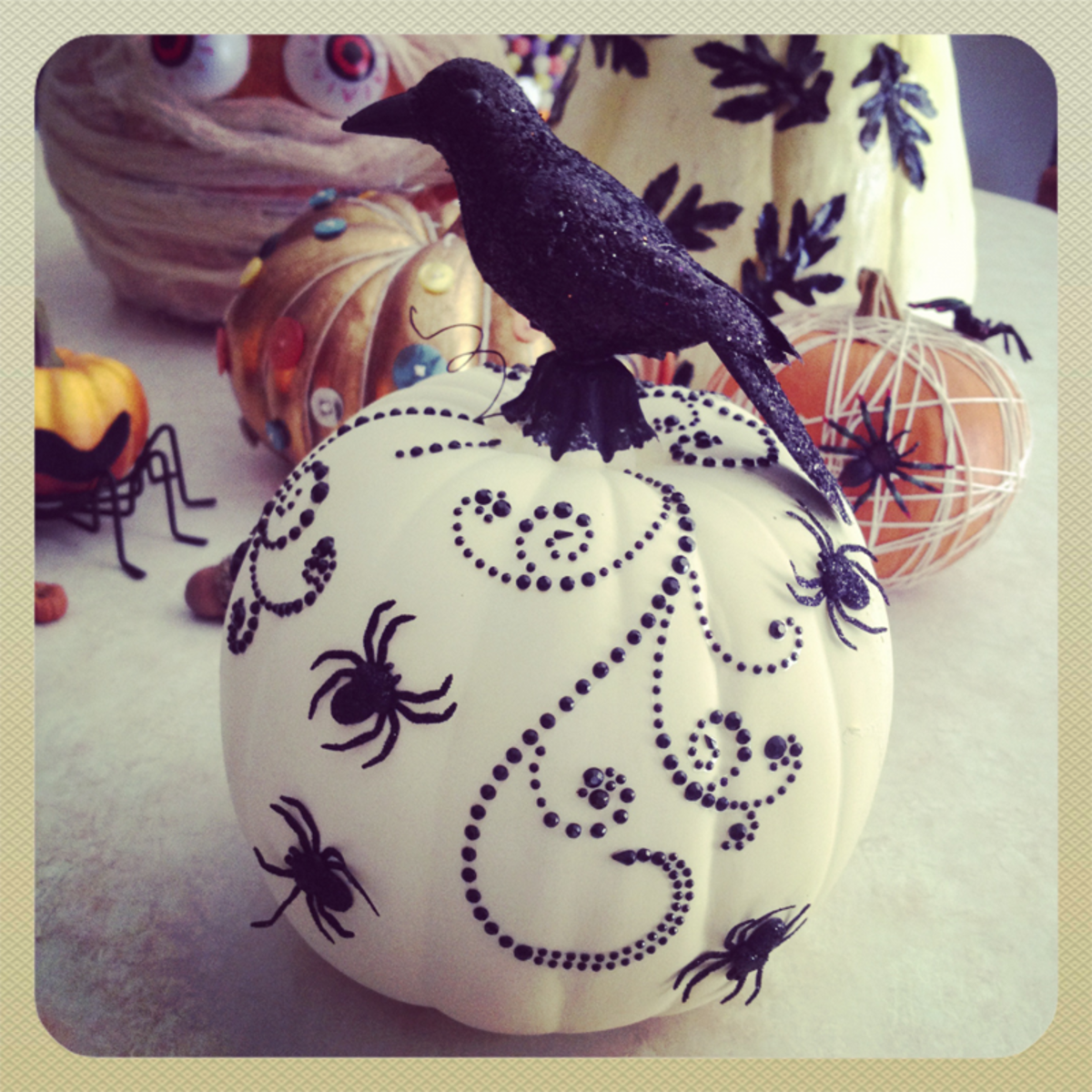 Creative Decorated Pumpkins