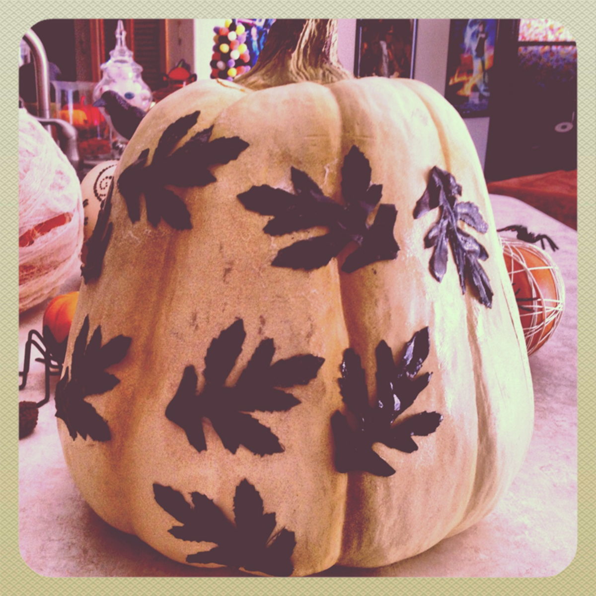 Decorating for Fall with Pumpkin Craft Ideas
