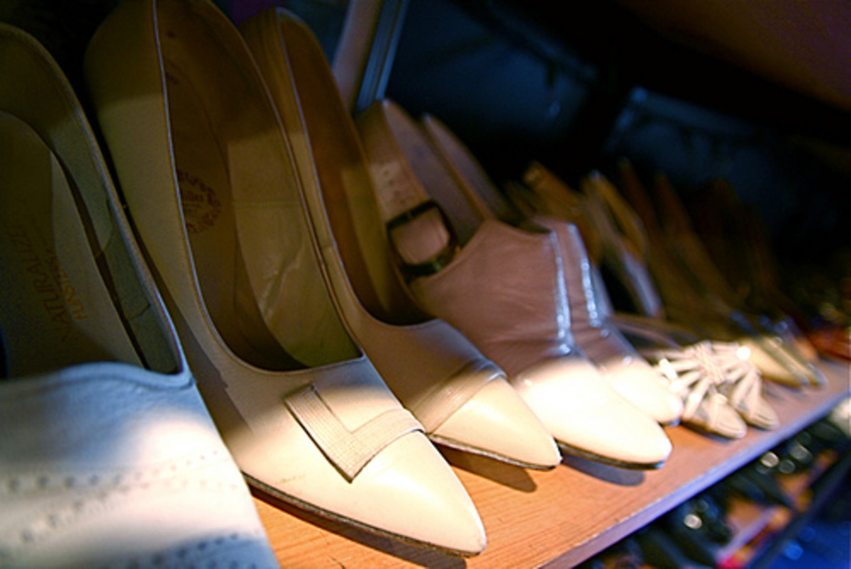 Granny might have a pair of vintage pumps...just waiting for you to find them!