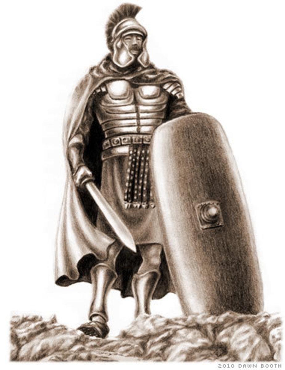 True biblical armor