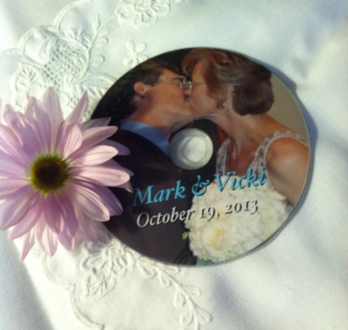 Personalize a keepsake CD with a favorite image.