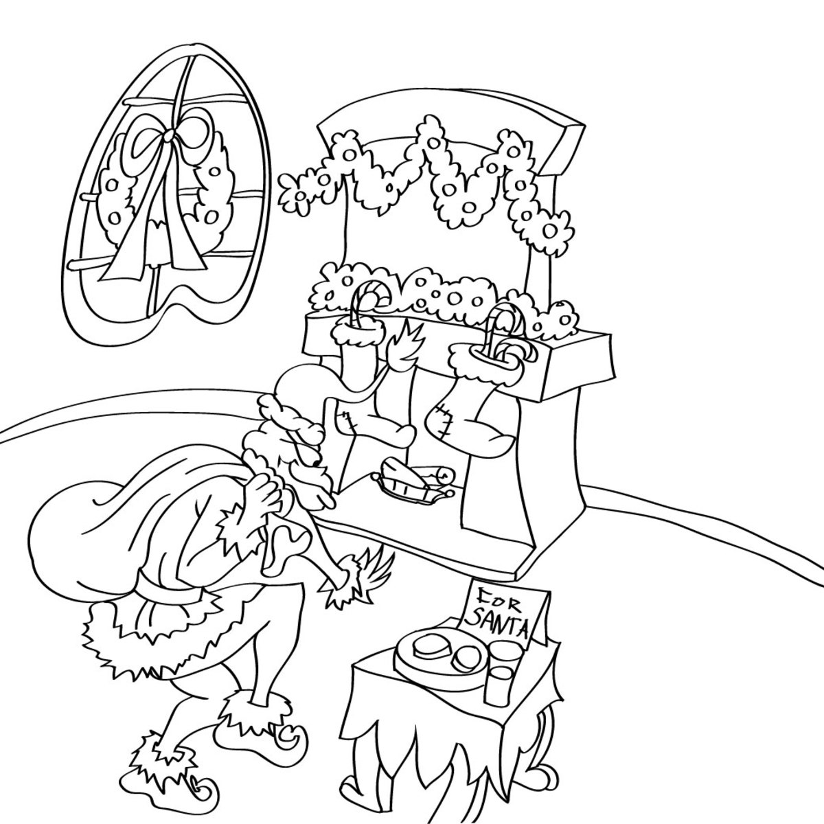 whoville coloring pages - photo#25