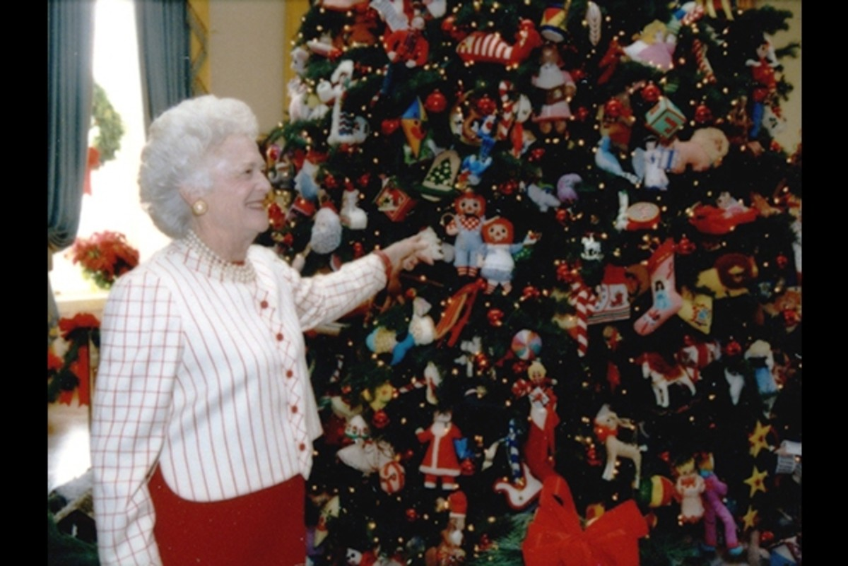 First Lady Barbara Bush 1991