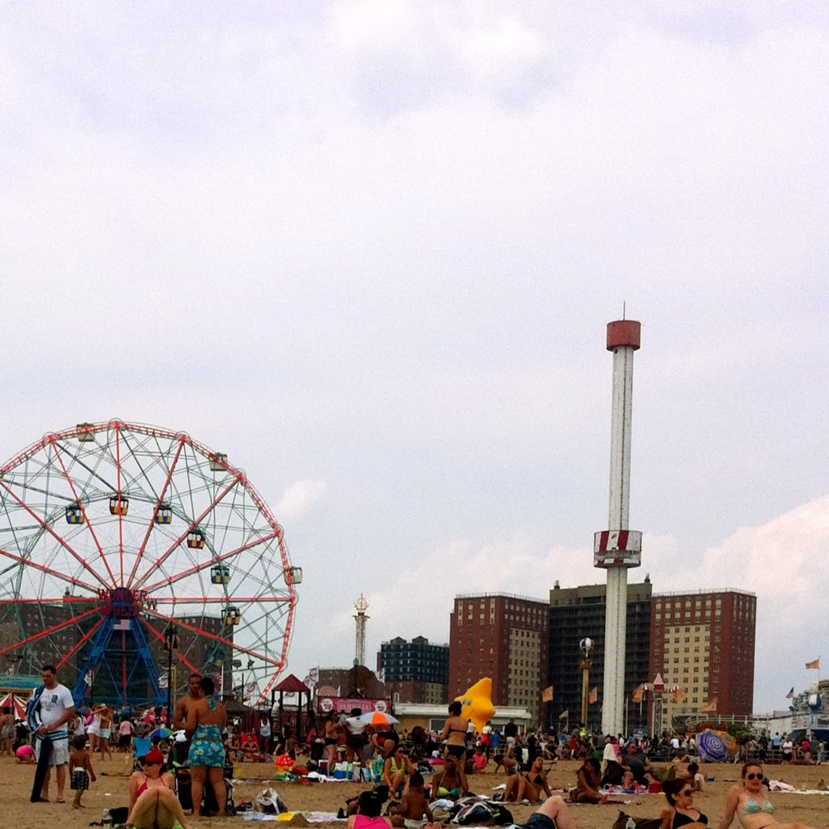 Coney Island - a trip to the beach or an amusement park could be a nice way to celebrate.