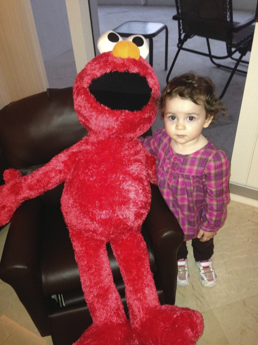 Elmo and Madison