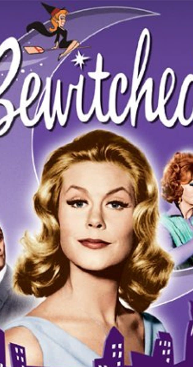 Bewitched was a popular American TV comedy that starred Elizabeth Montgomery, as Samantha, a modern-day witch married to a normal American male.
