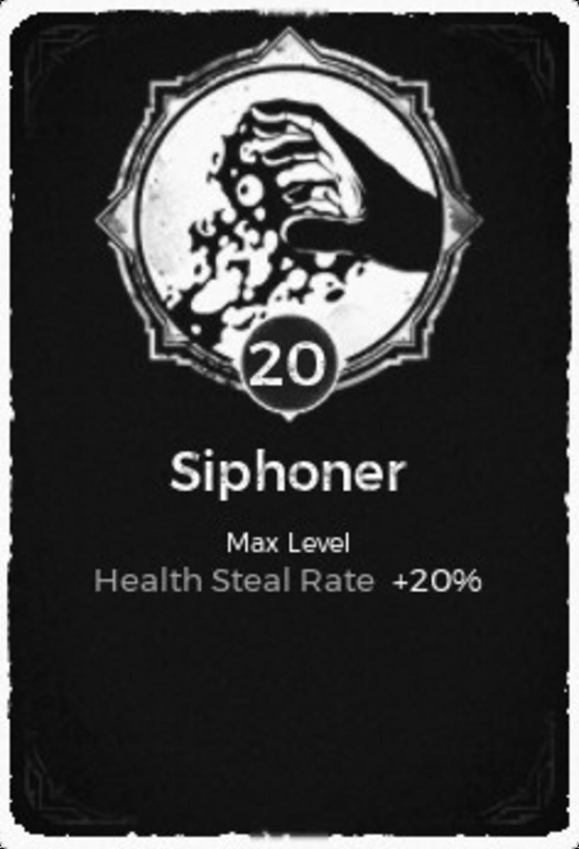 The Siphoner Trait.