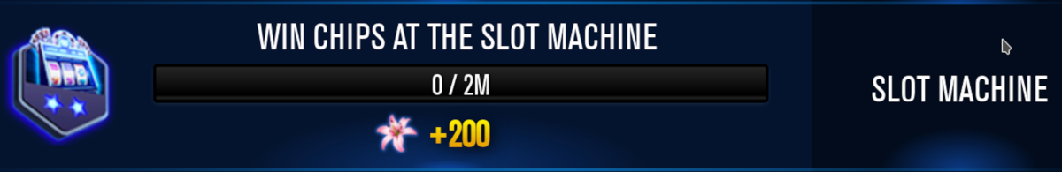 "Some slot related missions are worth completing in ""WSOP."""