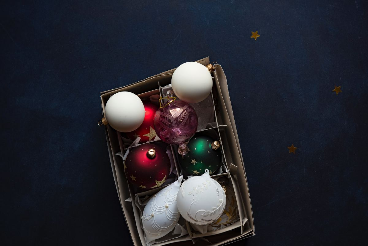 Stay organized when taking down holiday decorations; you'll thank yourself next year.