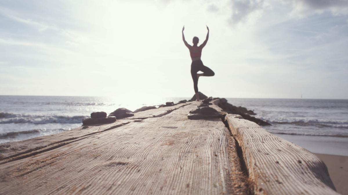 Yoga is a great way to start the new year on a healthy note!