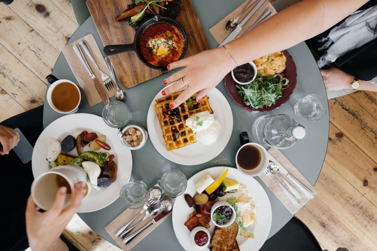 Host a brunch for friends to gather and enjoy the day together!