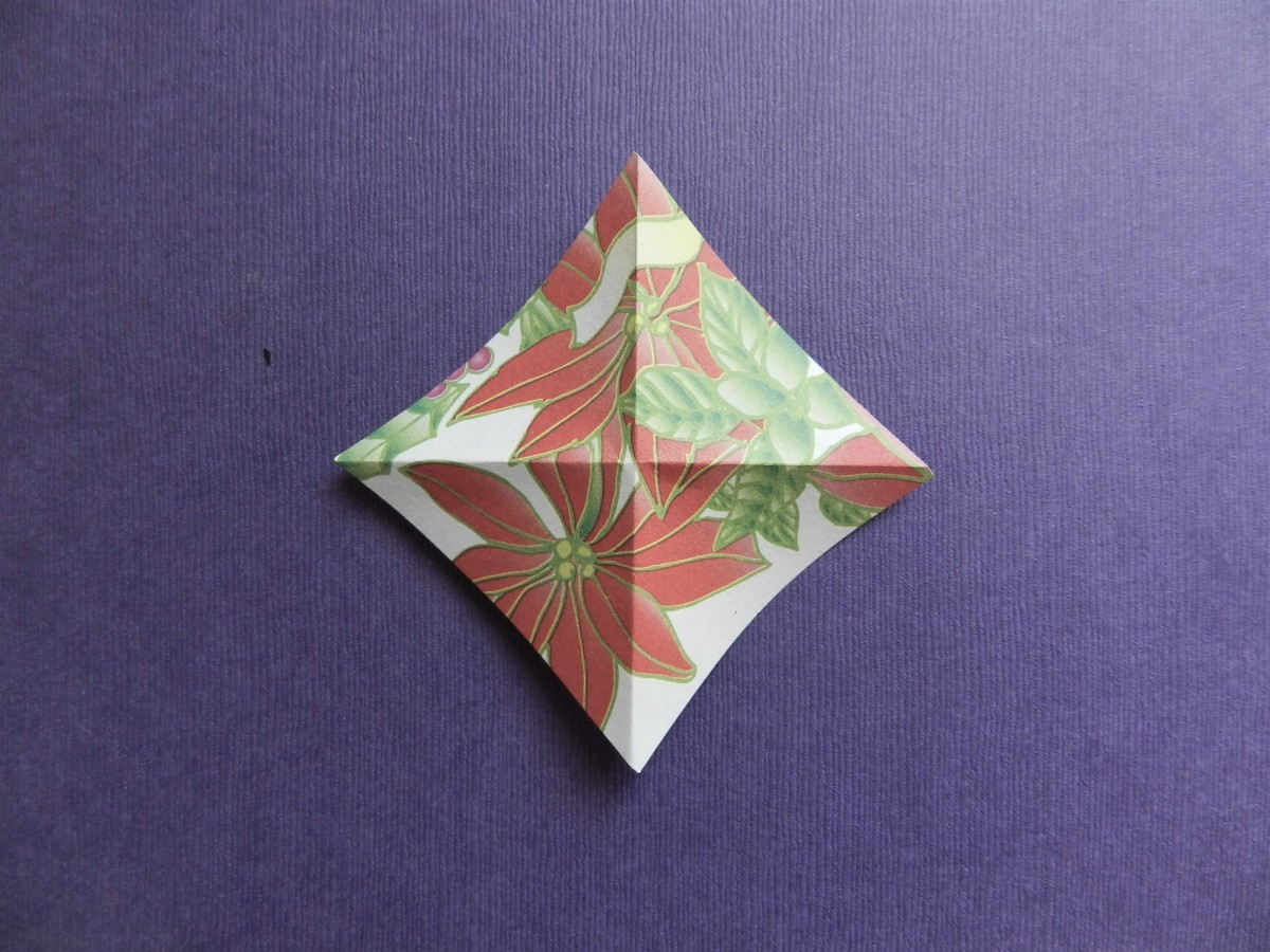 Fold two ways diagonally