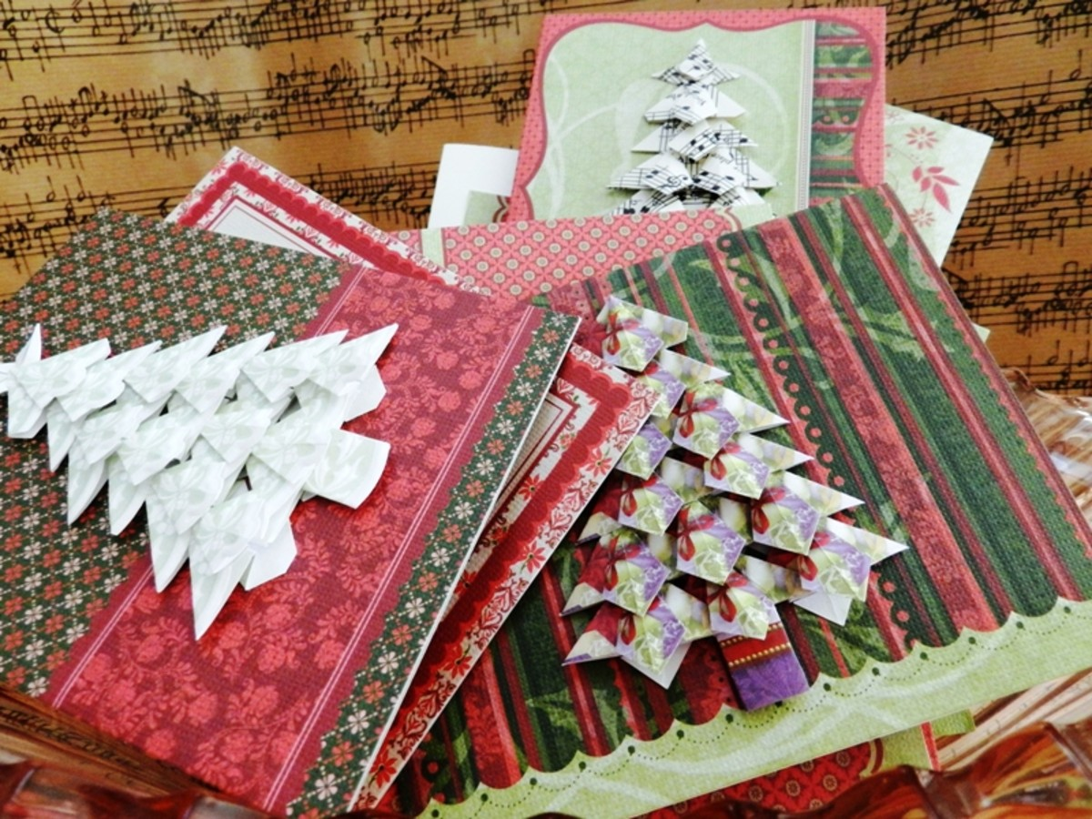 Put your tree embellishments on note cards.