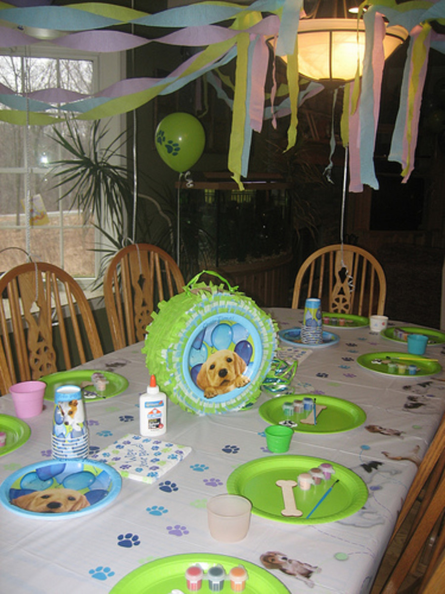 Dog Party Decorations