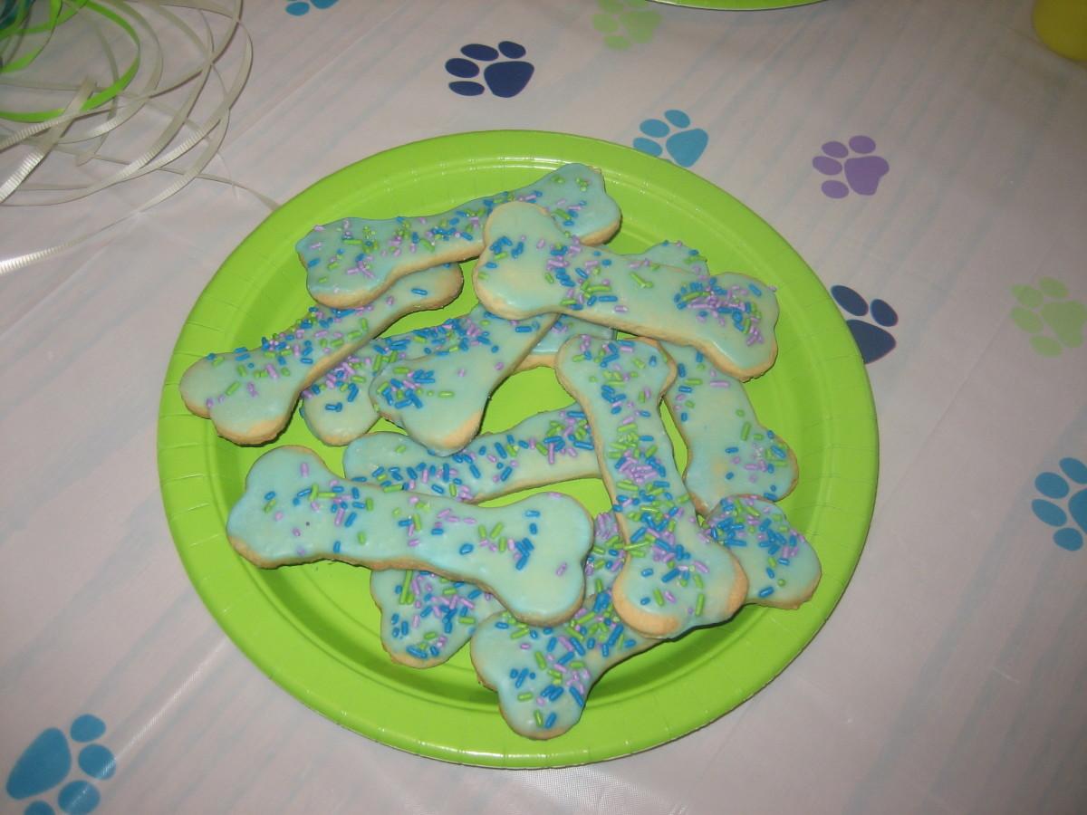 Dog Bone Cookies