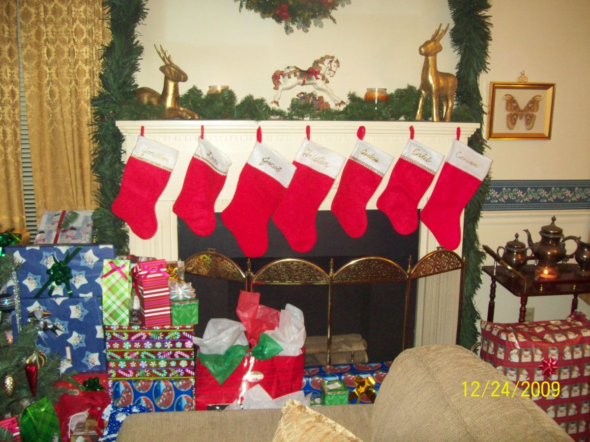 The stockings are hung with care.
