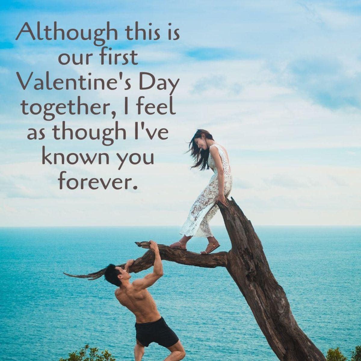 Wife to valentine note Valentines Day