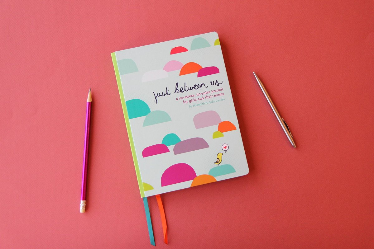 A memory journal for girls and their moms - perfect Mother's Day gift.
