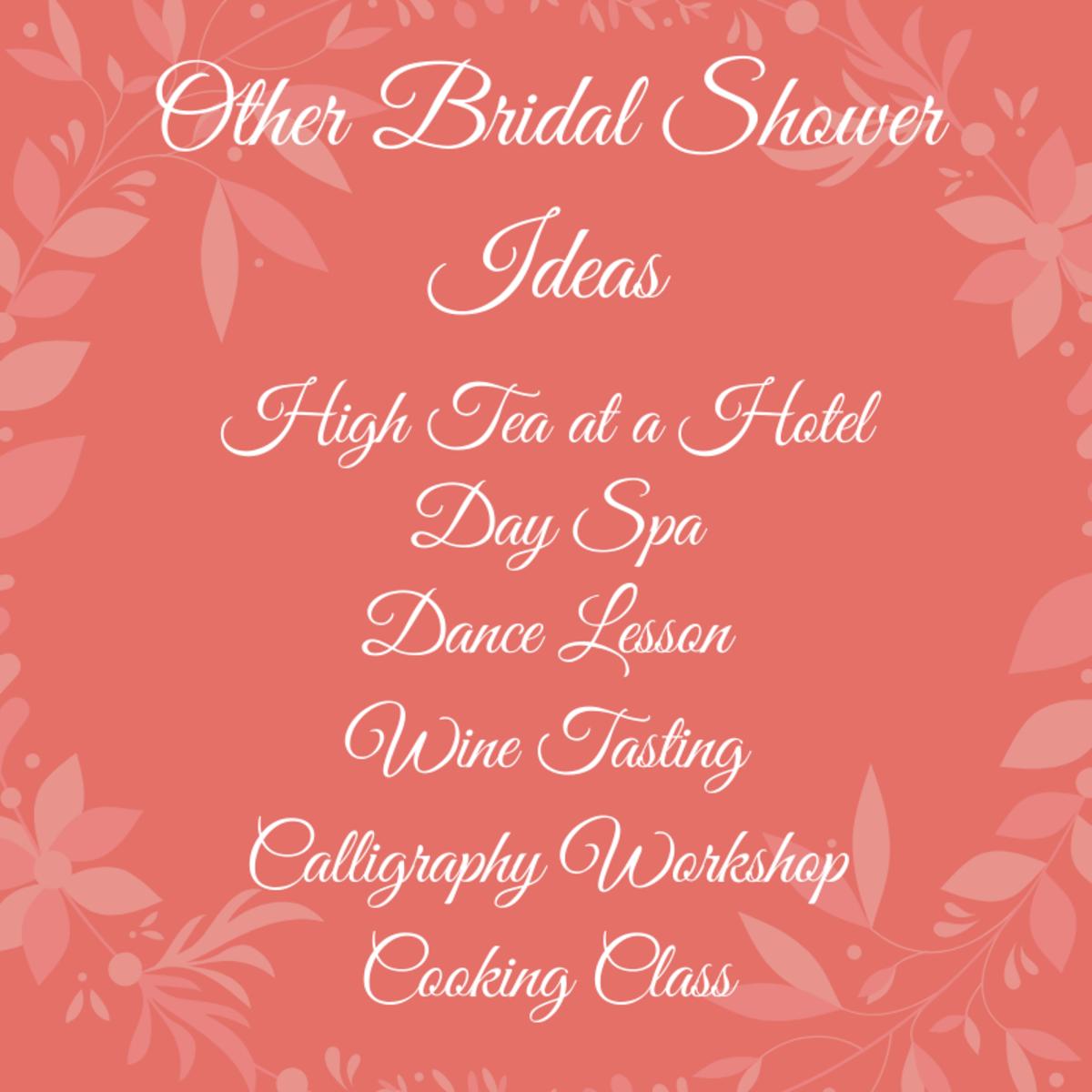 More Bridal Shower Ideas