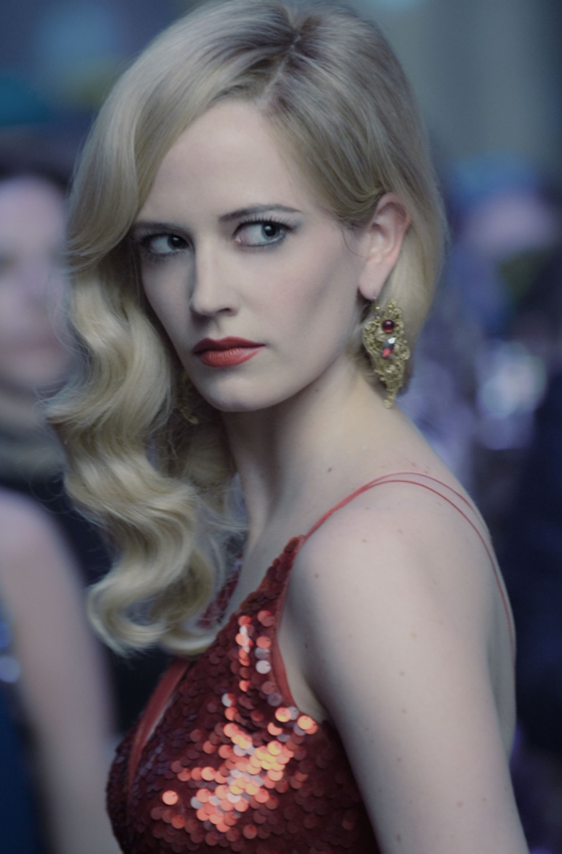 Eva Green as Angelique in 2012
