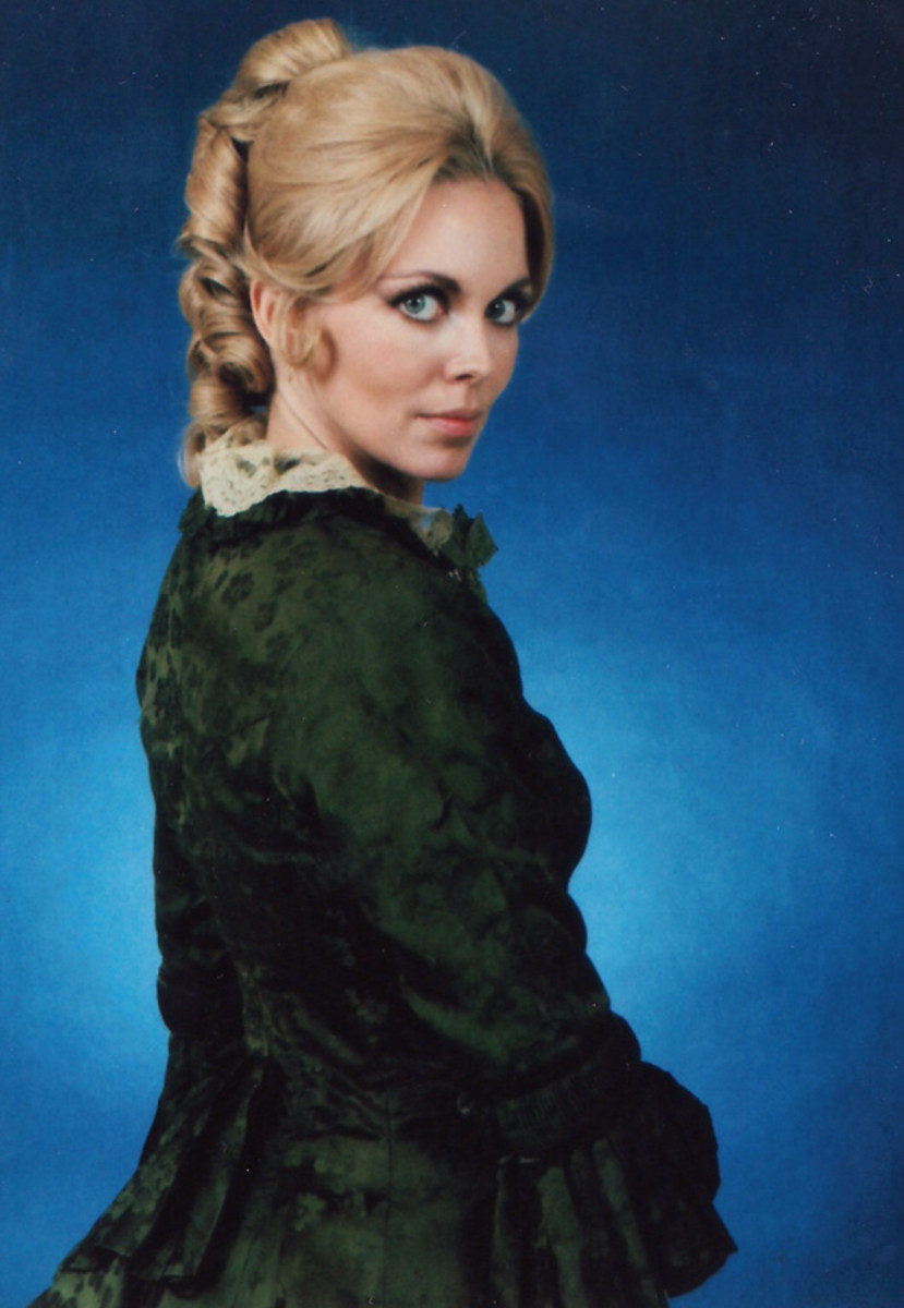 Lara Parker as Angelique in the late 1960s