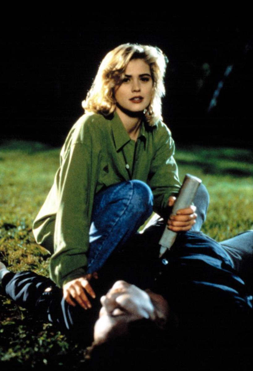 Kristi Swanson as Buffy in 1992