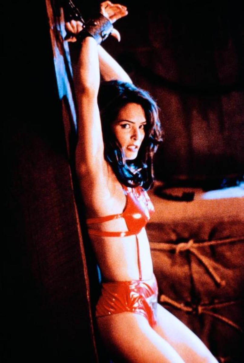 Talisa Soto as Vampirella in 1996