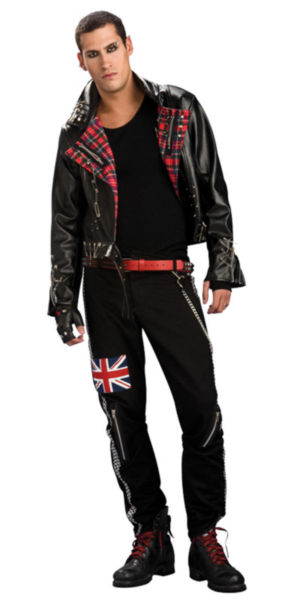 Punk rocker costume