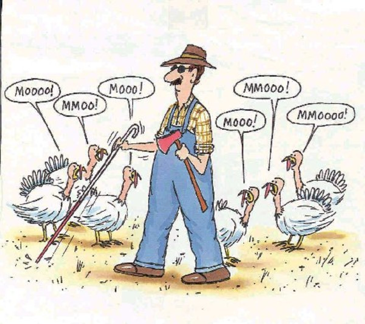 """""""Coexistence: what the farmer does with the turkey—until Thanksgiving."""" -Mike Connolly"""