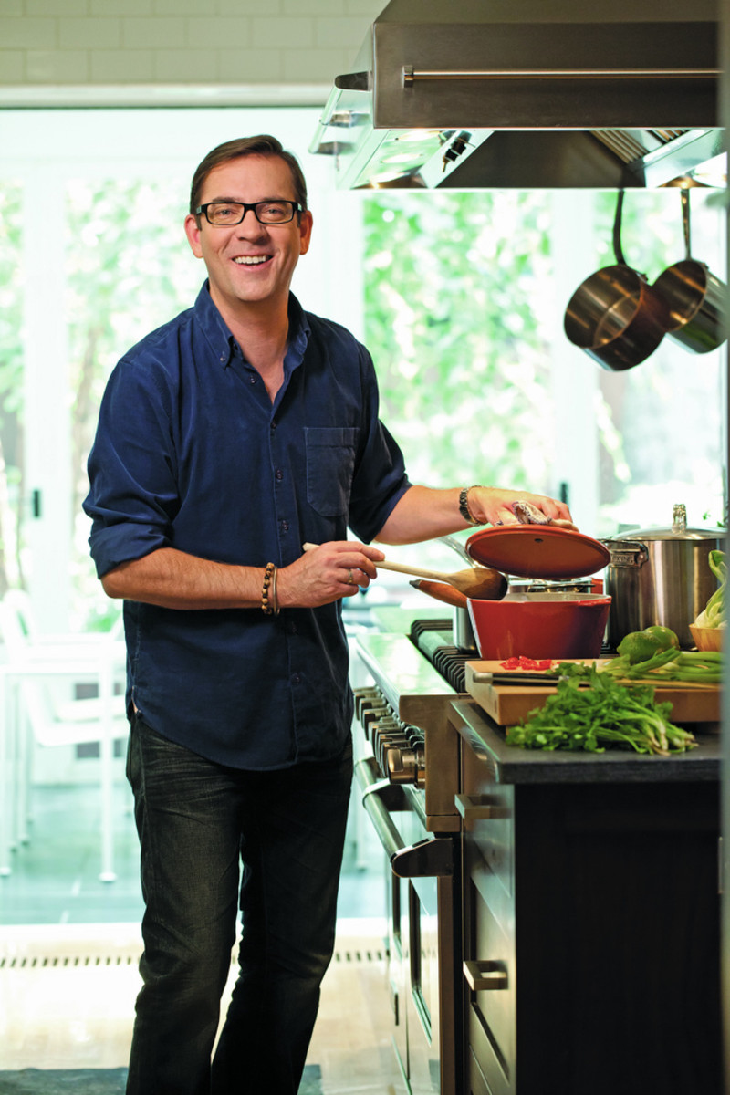 Ted Allen, the host of Chopped