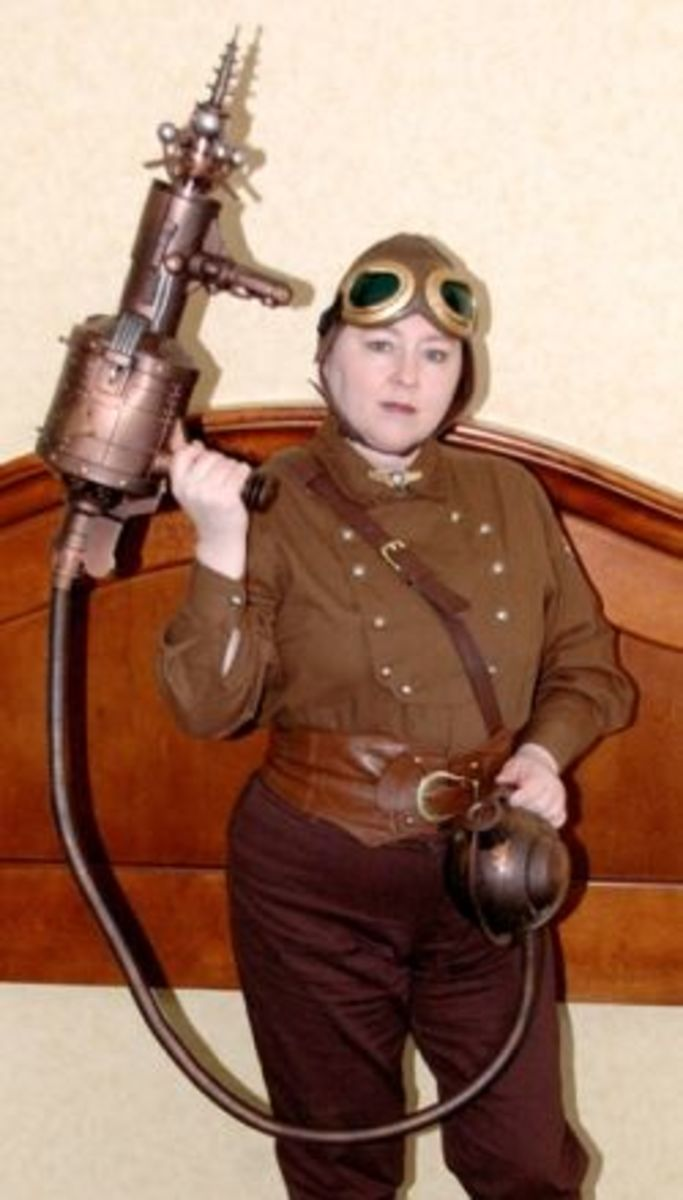 Steampunk costuming made easy for Easy steampunk ideas