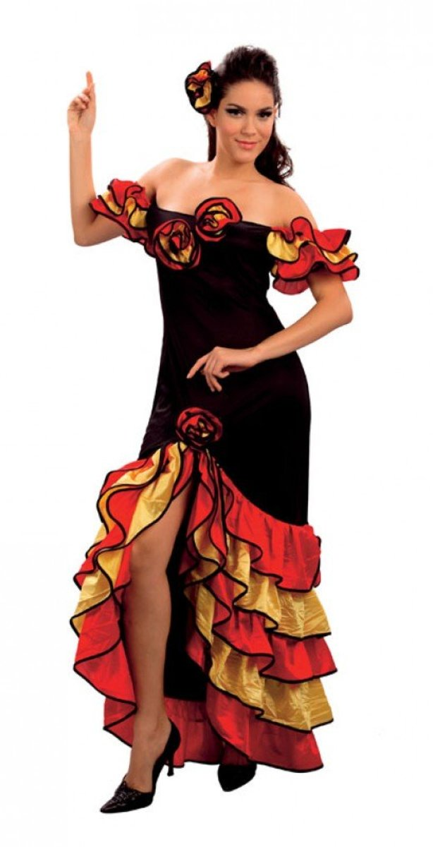 Rumba dancer