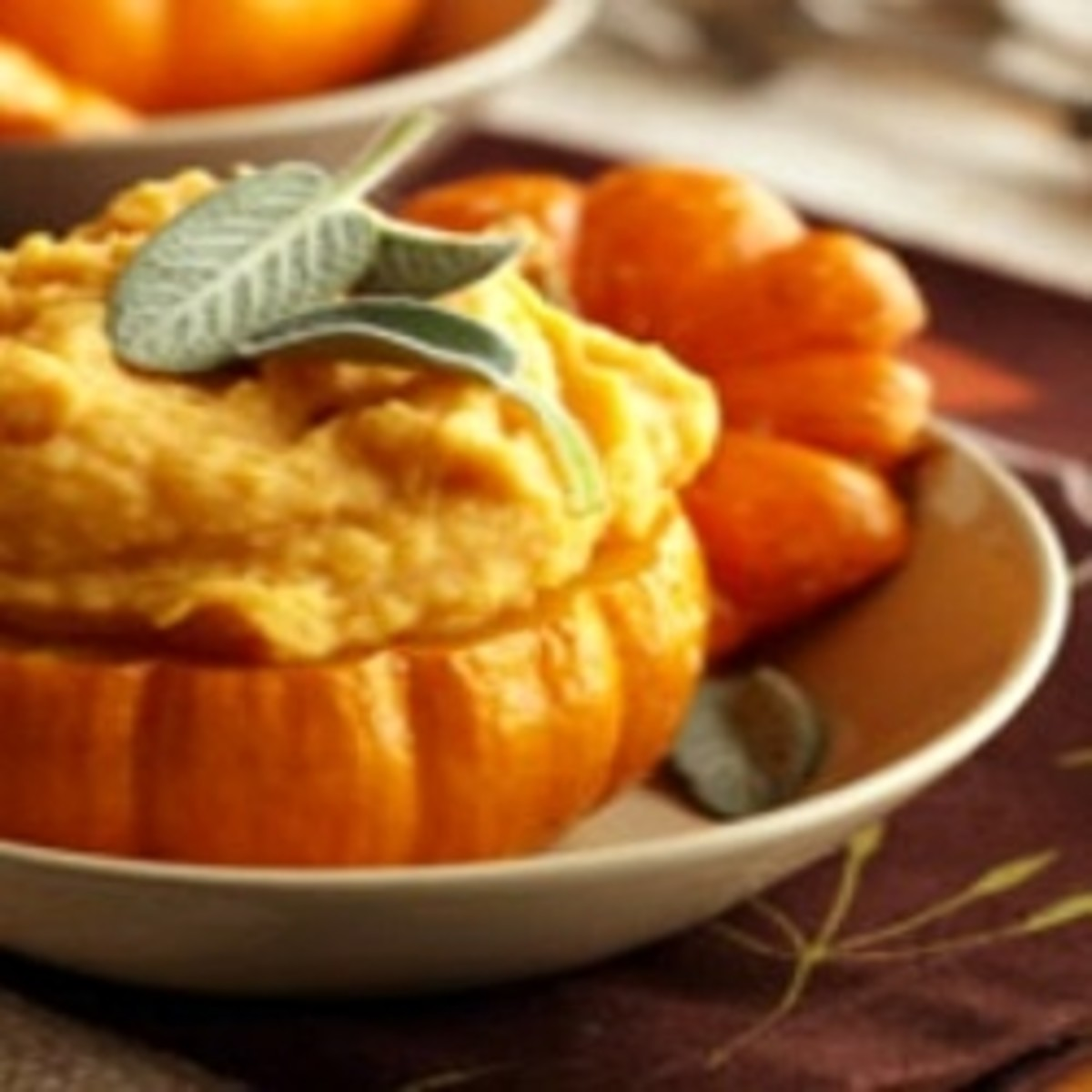 Pumpkin patch potatoes.
