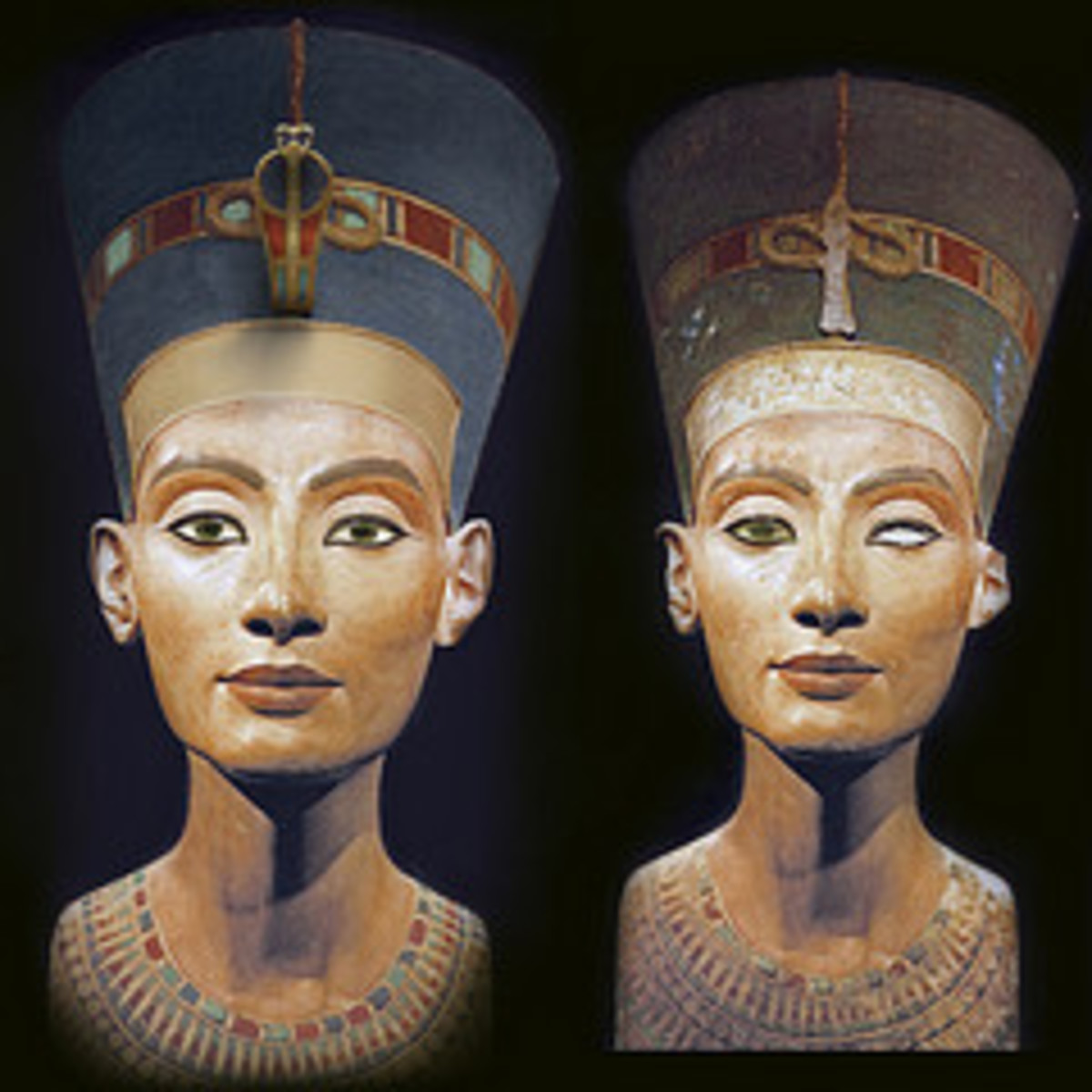 Nefertiti Bust Restoration by GeometerArtist.