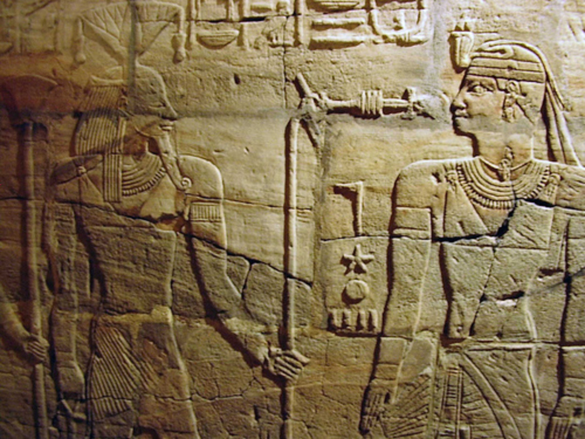 Egyptian Relief from the Ashmolean Museum by Alun Salt, CC, Some rights reserved, via Flickr