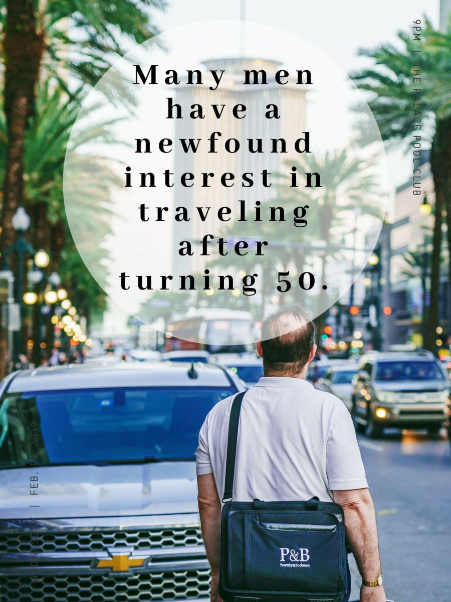 Travel-related gifts could provide inspiration and motivation to men interested in seeing the world.