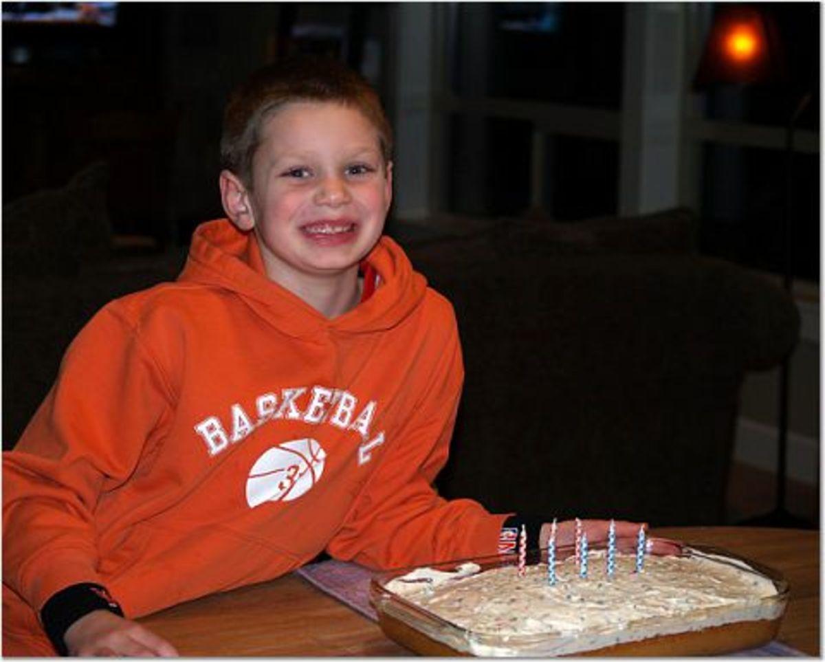 Celebrating an 8th birthday