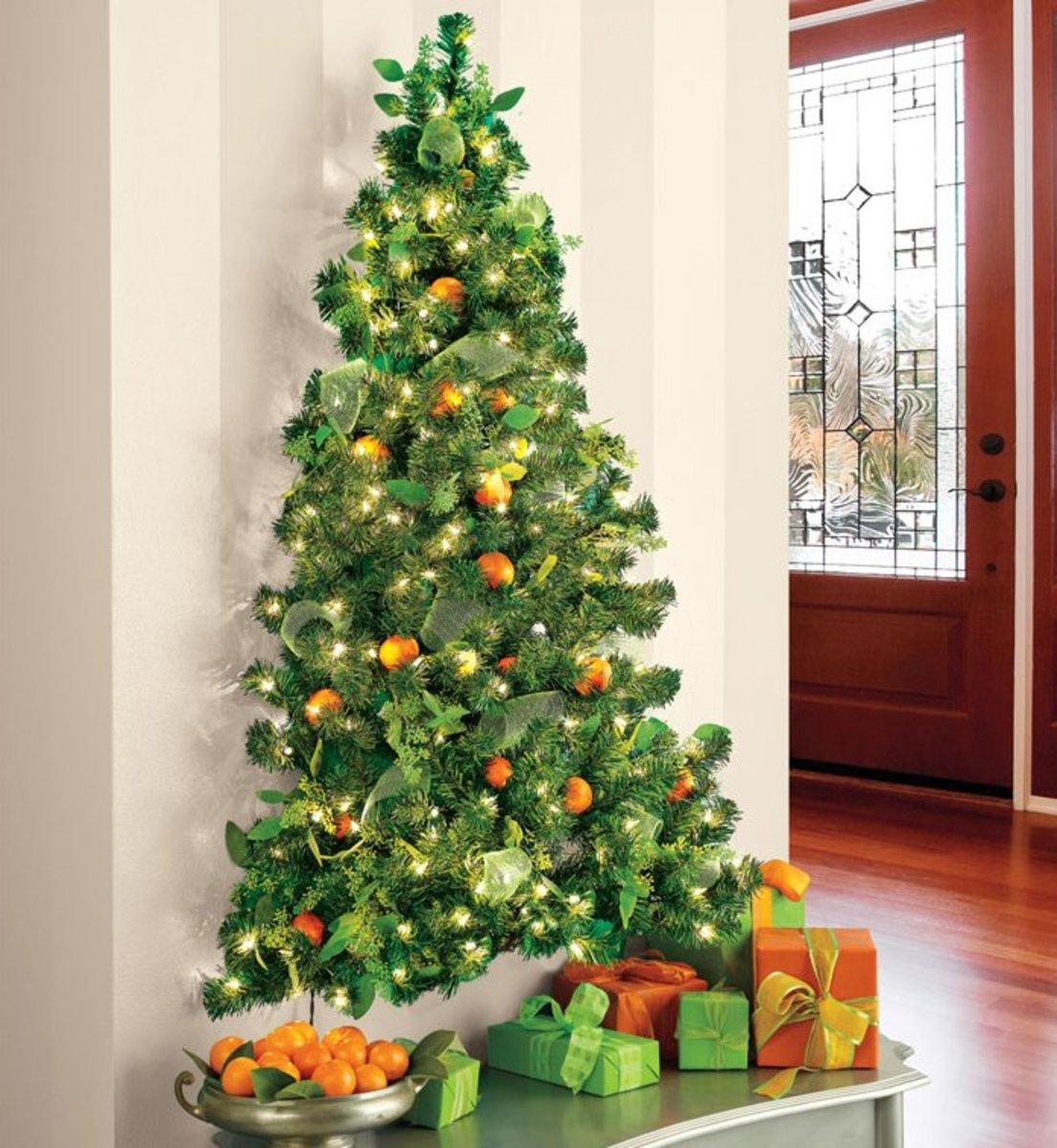 Искусственная новогодняя елка своими руками
