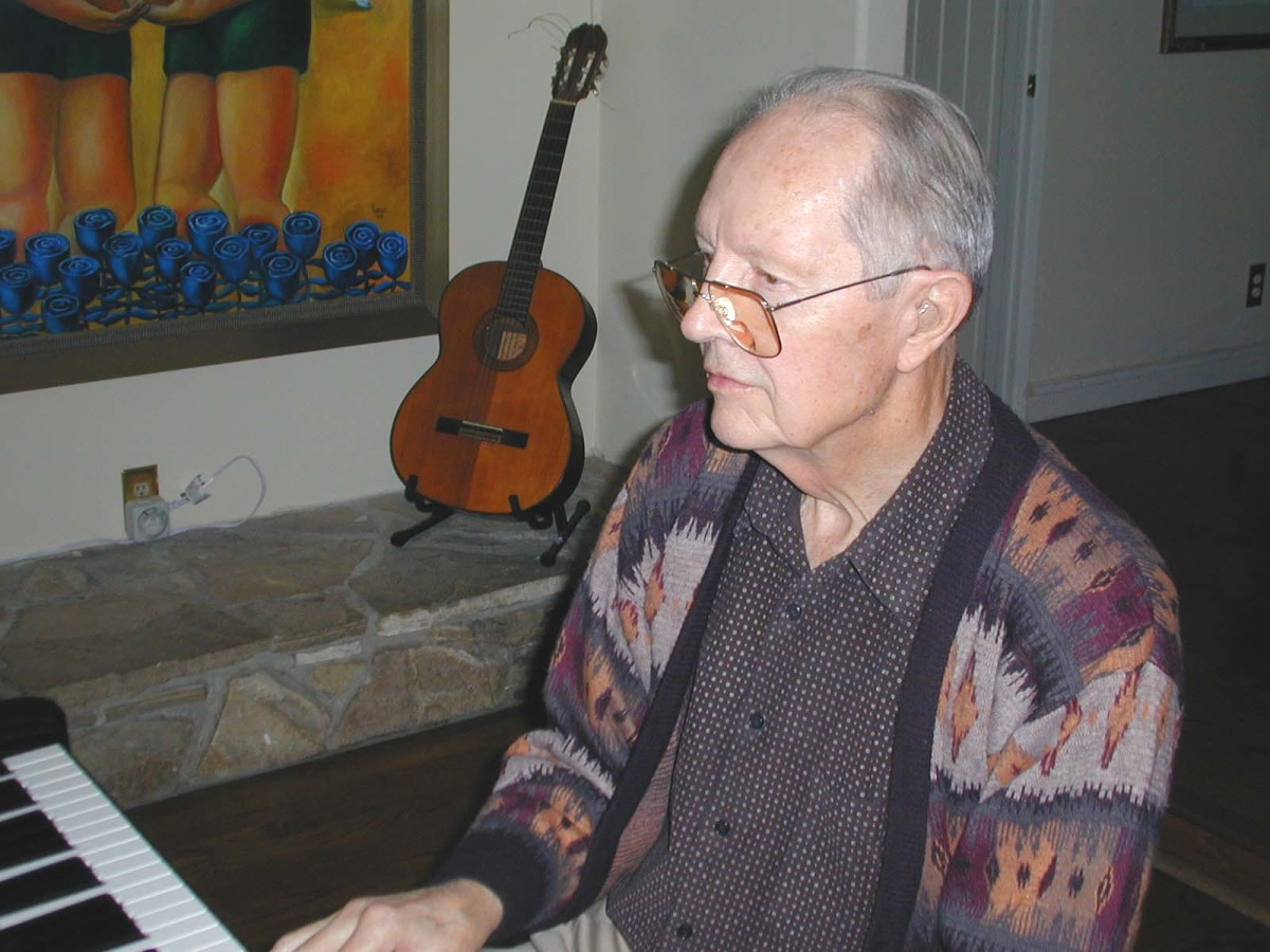 Our father used to play piano for us to sing Christmas carols and harmonize. His passing left a big gap in the family.