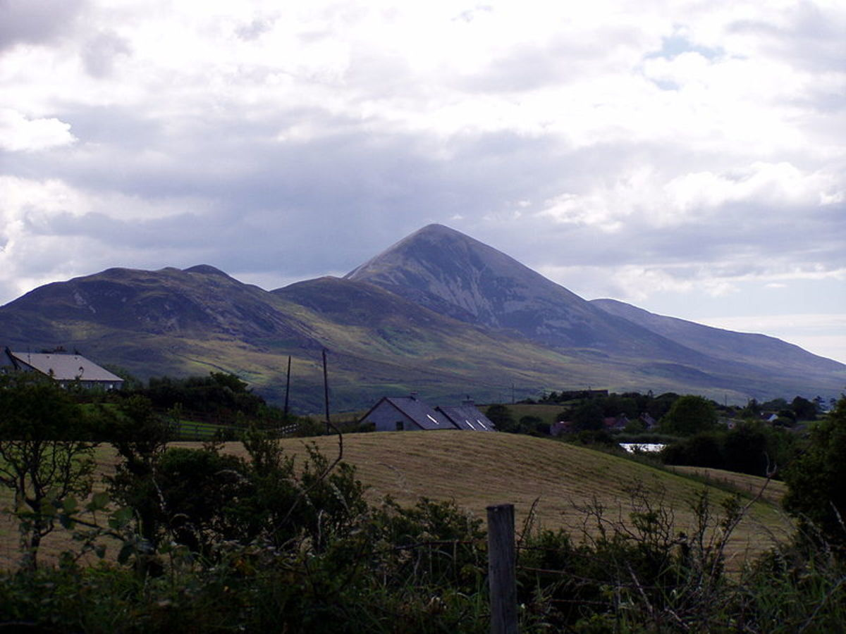 Croagh Patrick draws many pilgrims on St Patricks Day. Traditionalists will climb the mountain barefoot, no matter what the weather.