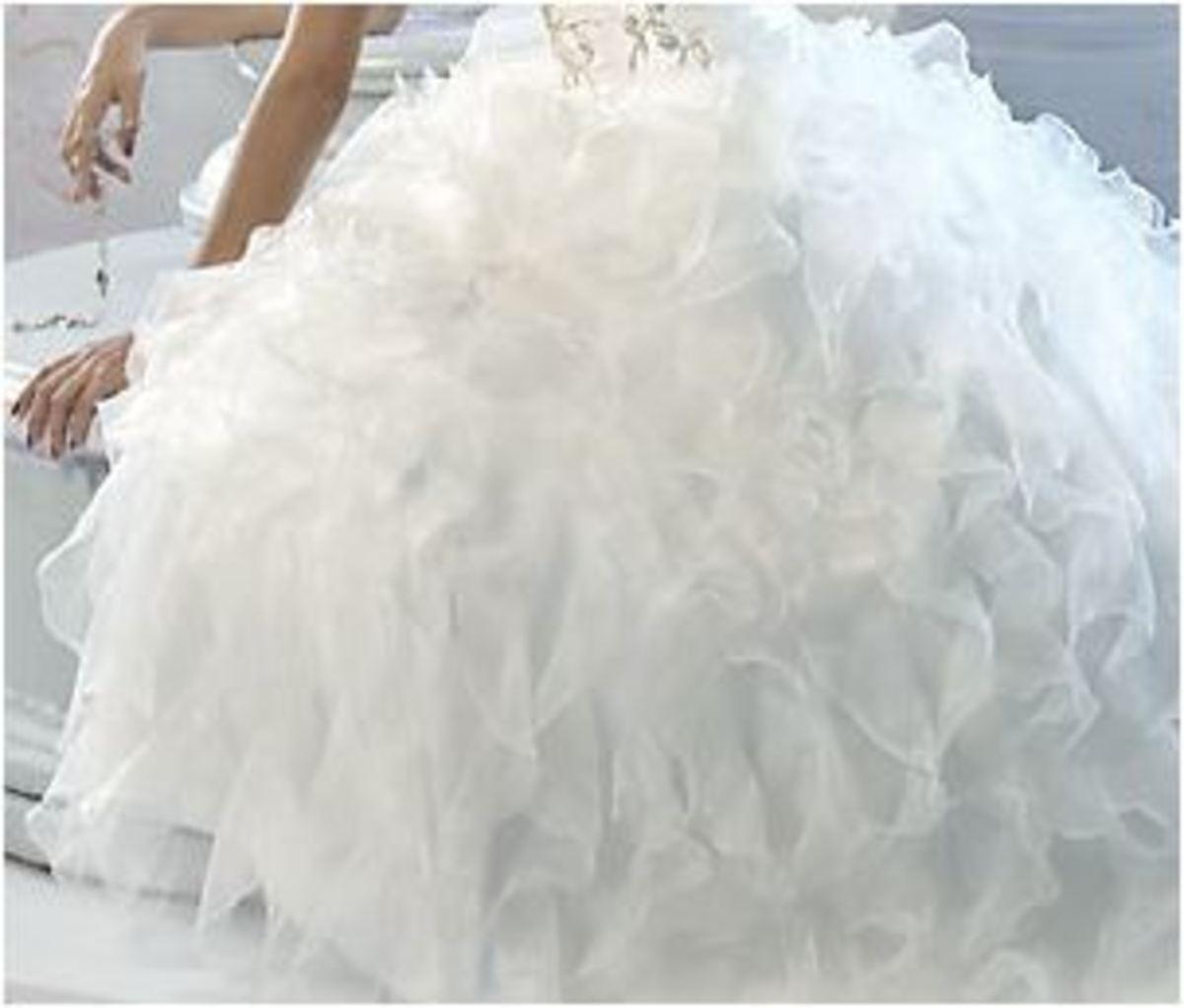Bride's Skirt 2