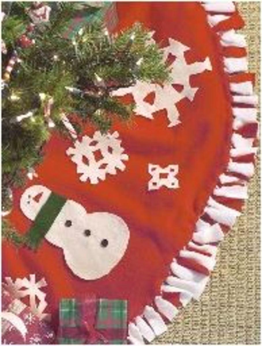 Fleece Tree Skirt