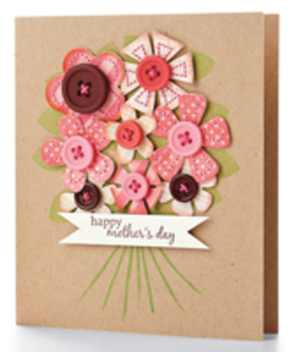 mother's day greeting cards homemade ideas to make  holidappy, Greeting card