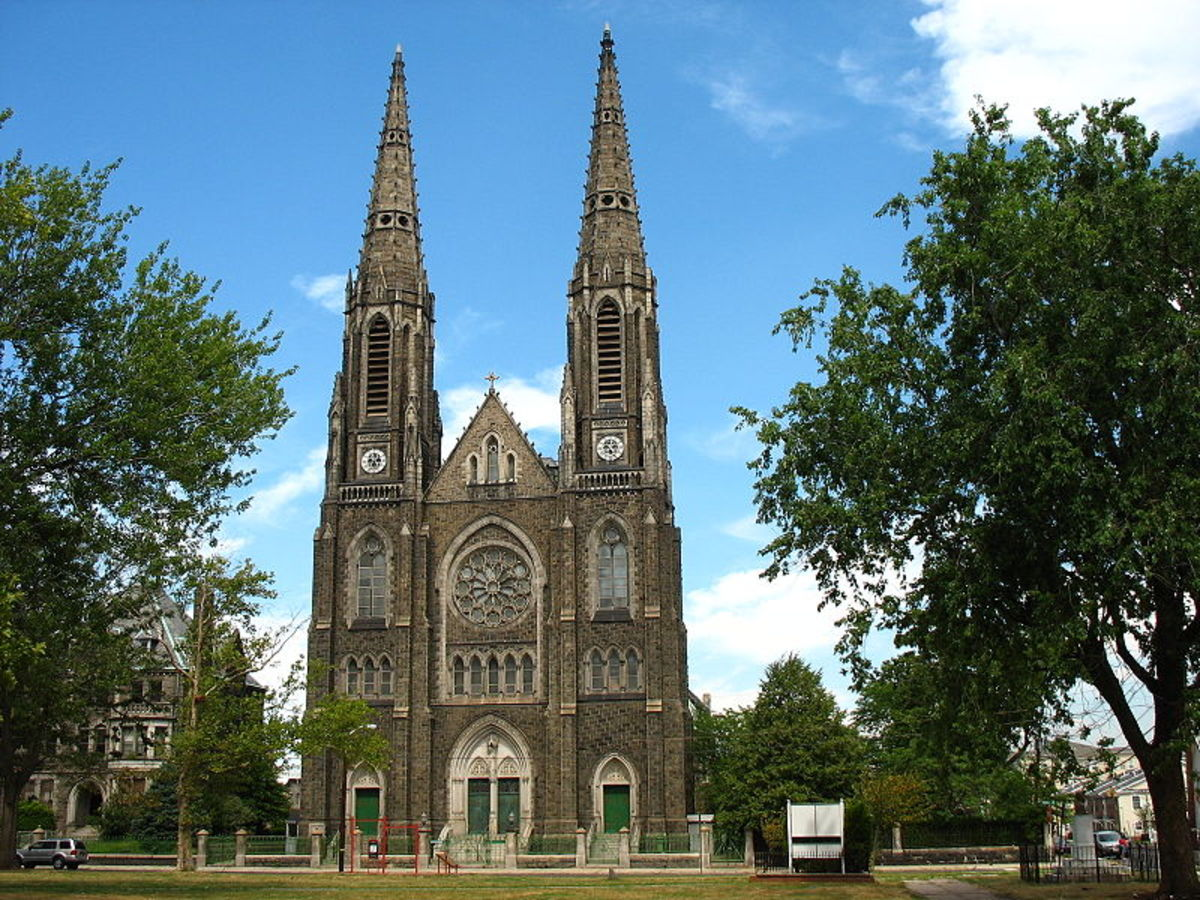 Immaculate Heart Of Mary & St Patrick Roman Catholic Church in NJ.
