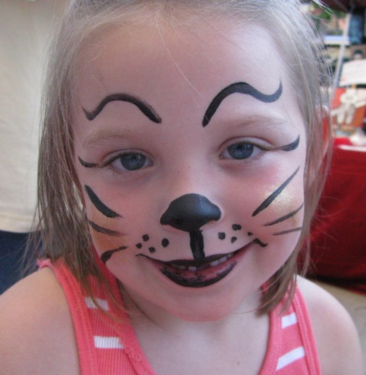 Easy Cat Face Paint