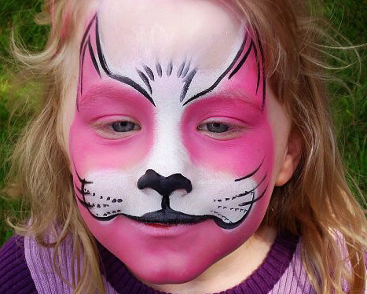 Black Cat Face Paint | www.imgkid.com - The Image Kid Has It!