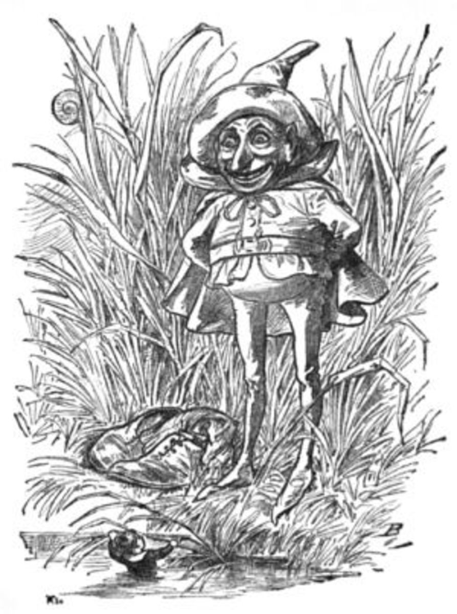 Goblin Illustration--from site Hobbit Party Ideas