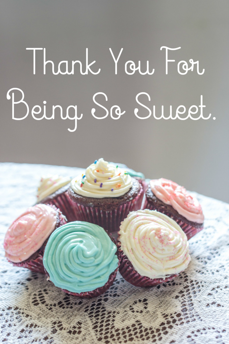 Thank a friend for doing something nice for you!