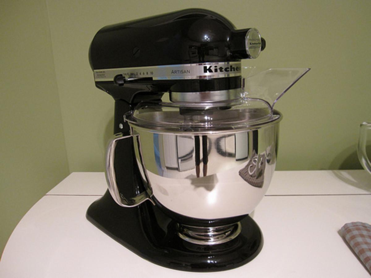 And the other option! Get it? It's a mixer. Ha. Ha. Ha.