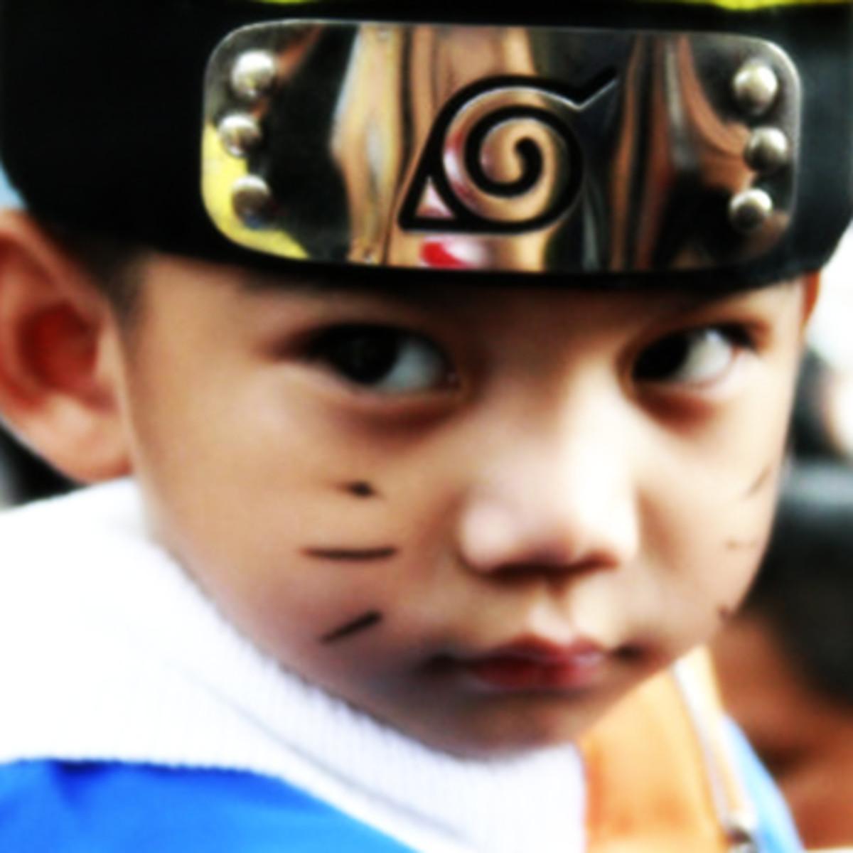 Uzumaki Naruto Kid Cosplay